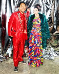 ALICE + OLIVIA BY STACEY BENDET and DAVID CHOE Host a Night of Fashion, Art, and Disco Dancing