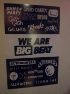 Big Beat Roster