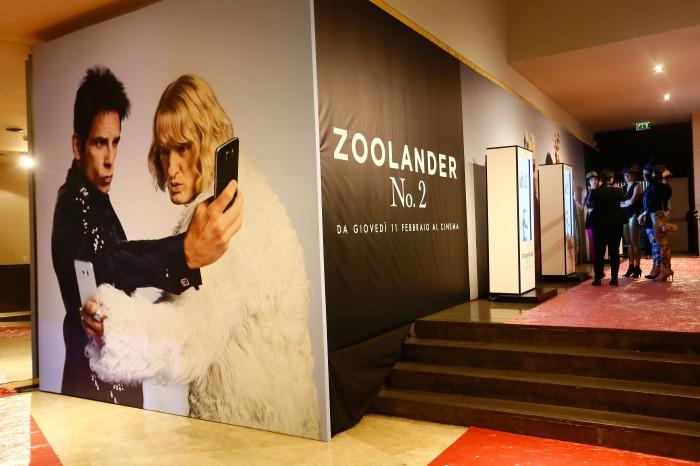 Cast Of @ZoolanderMovie Attend Rome FanScreening