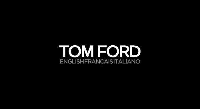Tom Ford To Stream Fall 2016 Collections Tonight | @TOMFORD